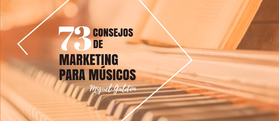 Consejos de Marketing para Músicos